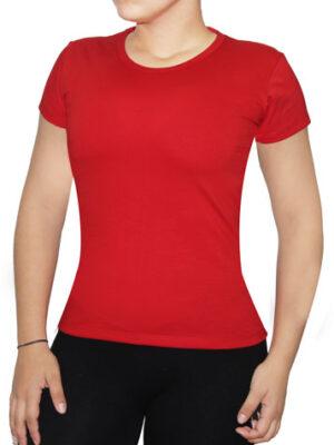 Polo Rojo Para Dama