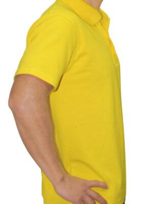 Polo Cuello Camisero Amarillo Brasil