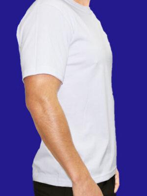 Polo Blanco para Hombre en 30/1