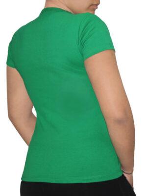 Polo Verde Perico Dama Cuello V