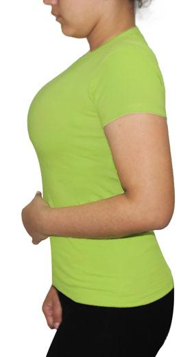 Polo para Dama Verde Manzana