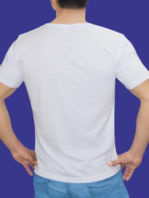 Polo Blanco en Cuello V