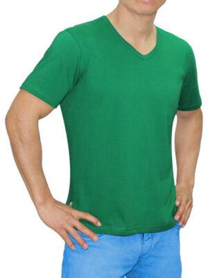 Polo Verde Perico en Cuello V