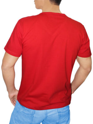 Polo Rojo en Cuello V