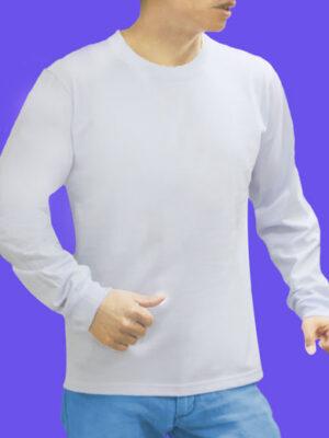 Polo Manga larga Blanco en 20/1