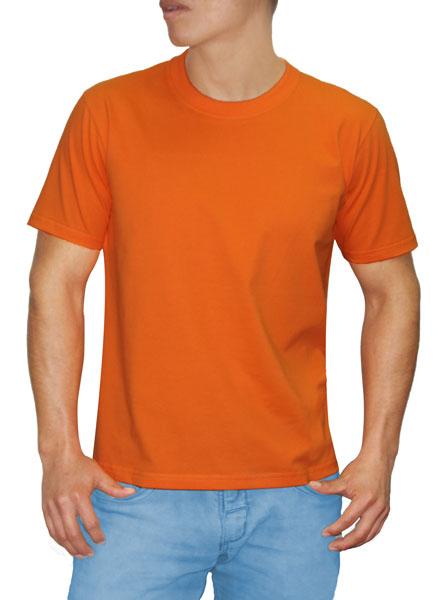 Polo en Algodón Reactivo Naranja