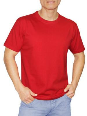 Polo Rojo para Hombre en 30/1